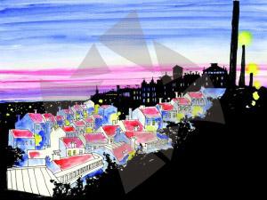 Carte postale d'Angoulême - Panorama d'Angoulême