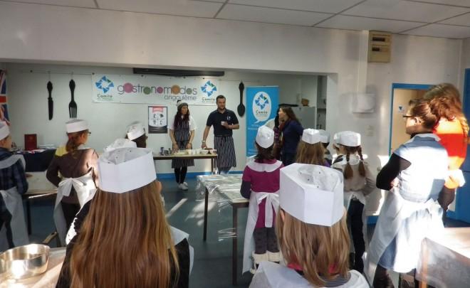 Une délégation de Bury participe aux Gastronomades