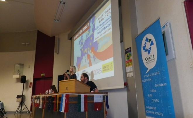 Retour sur la conférence «Migrants et réfugiés en Europe : Enjeux, représentations, actions»