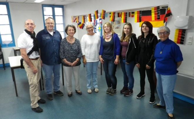 Des stagiaires allemandes accueillies à Angoulême