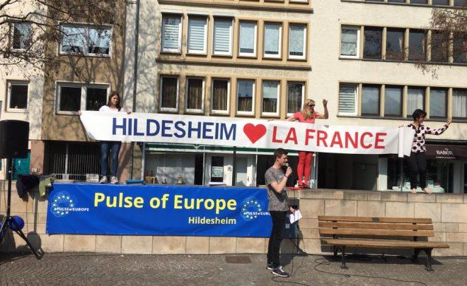 Pulse of Europe à Hildesheim