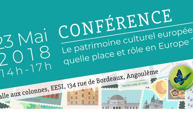 Conférence : rôle et place du patrimoine culturel européen