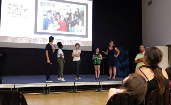 Le théâtre comme lien entre jeunes français et roumains