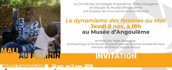Conférence 8 nov - Les femmes au Mali