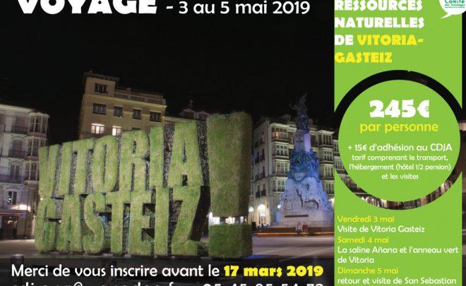Voyage touristique à Vitoria-Gasteiz