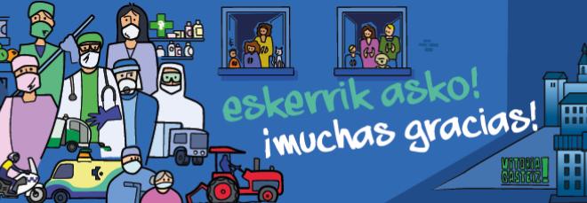Crise sanitaire, des nouvelles de Vitoria-Gasteiz (2)