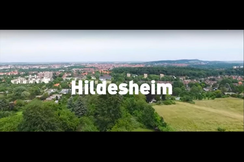 Hildesheim vu du ciel