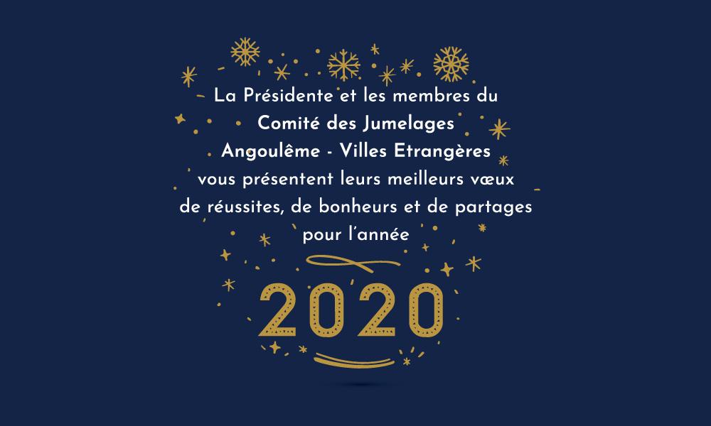 Meilleurs vœux 2020