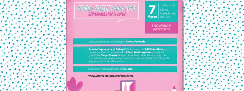 Vitoria-Gasteiz célèbre la BD