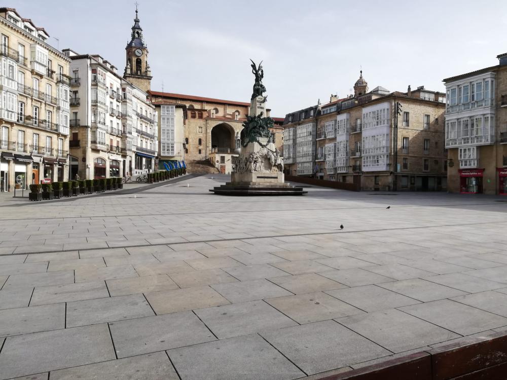 Crise sanitaire, des nouvelles de Vitoria-Gasteiz